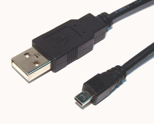 Nikon Coolpix P300 Digital Camera USB Cable 5' USB Data Cable - (8 Pin) - Replacement by General Brand