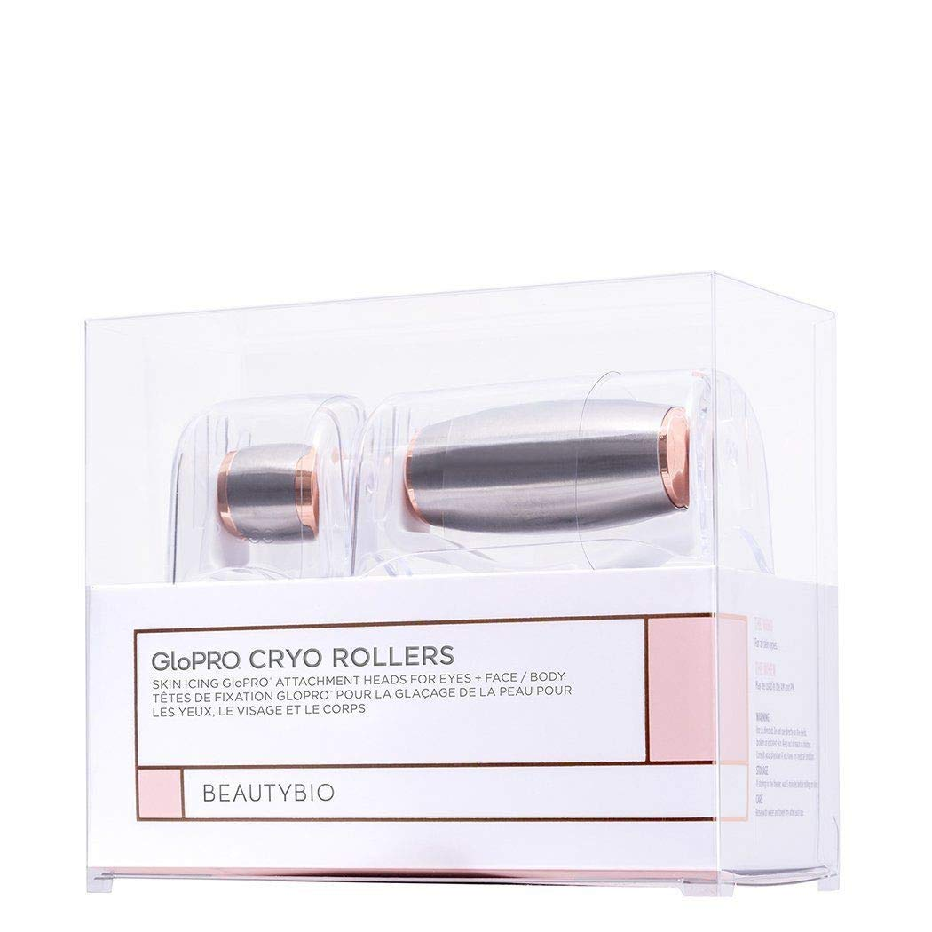 Beauty BIO BeautyBio GloPRO Cryo Roller Duo: Skin Icing Attachment Head For Eyes, Face and Body, 1 ct.