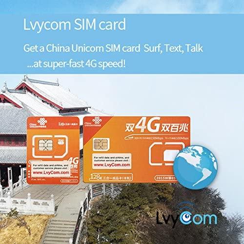 China SIM Card 2GB 4G Data + 100 mins to US or Canada + 50 mins Local Calls or 100 Local Texts, China Local #,! Free Incoming Calls and Texts!