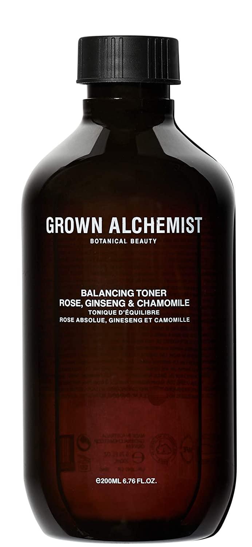 Grown Alchemist Balancing Toner - Rose, Ginseng & Chamomile - Pore Perfecting Toner with Vitamin C, Clean Skincare (200ml / 6.76oz)