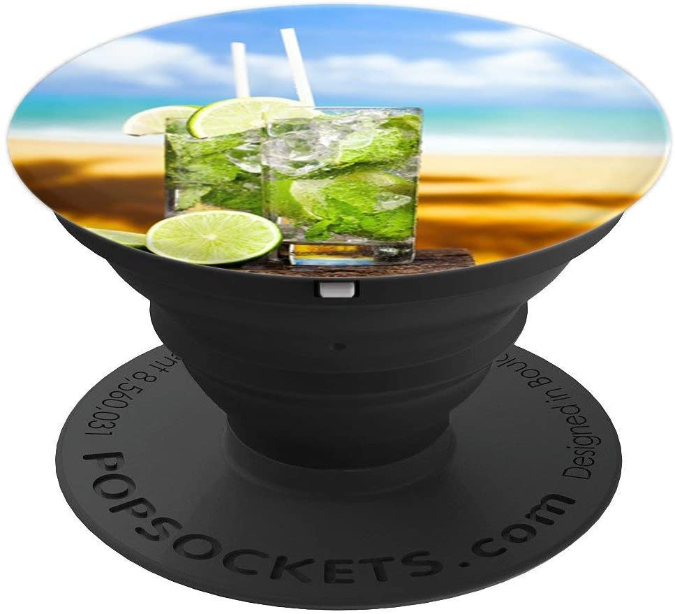 Hawaii Pop Mount Socket Palm Sun Beach Vacation Party PopSockets Grip and Stand for Phones and Tablets