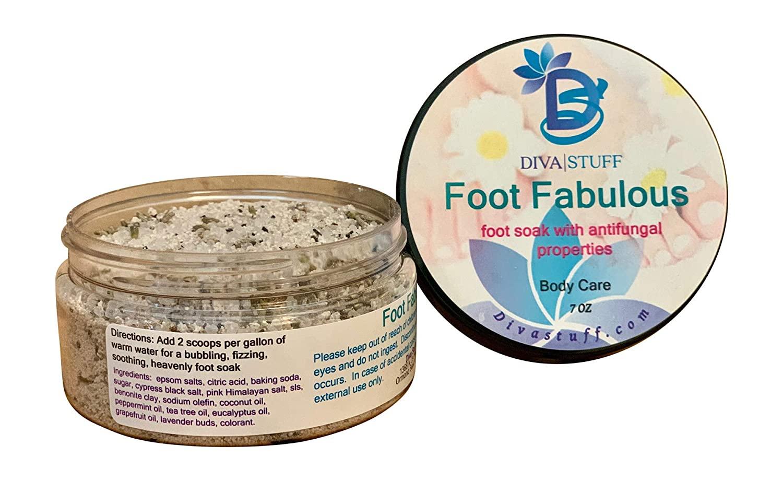 Foot Fabulous, Soothing Soak for Soft Soles, Antifungal, Deodorizing and Softening, Diva Stuff
