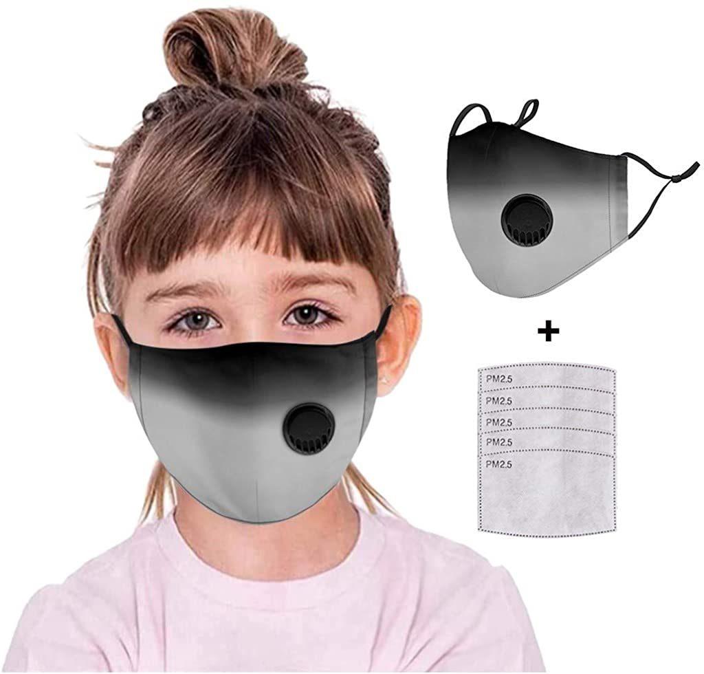 Face_Mask Children Kids Adjustable Reusable Breathable Safe Protection Cotton