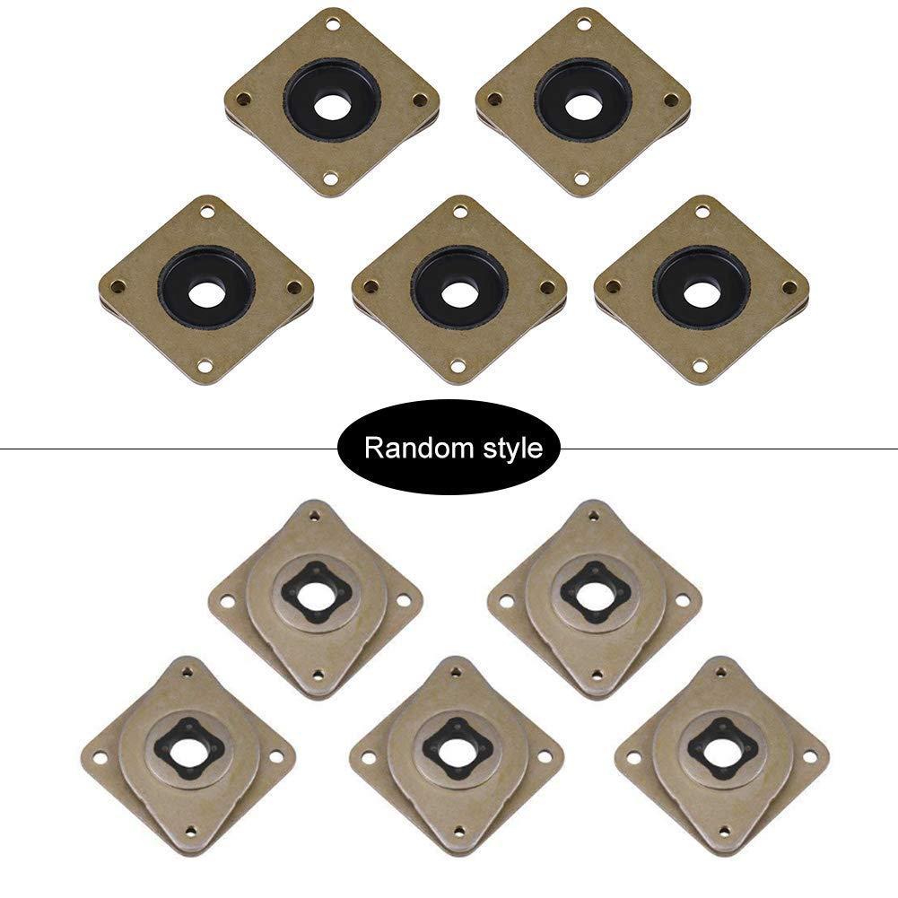 NEMA 17 Stepper Damper,5Pcs Steel and Rubber Stepper Motor Vibration Dampers for CNC 3D Printer