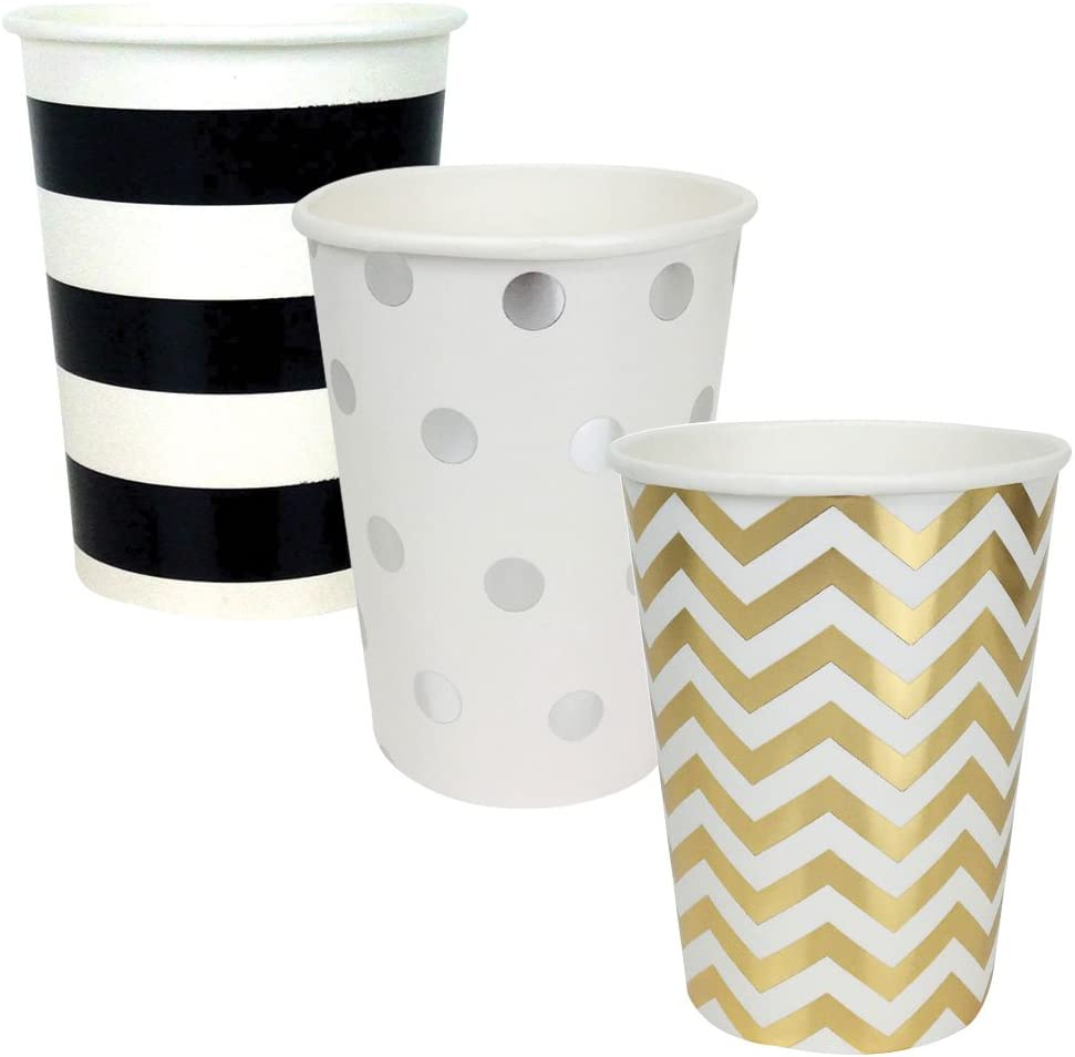 Just Artifacts Party Paper Cups 36pcs Assorted