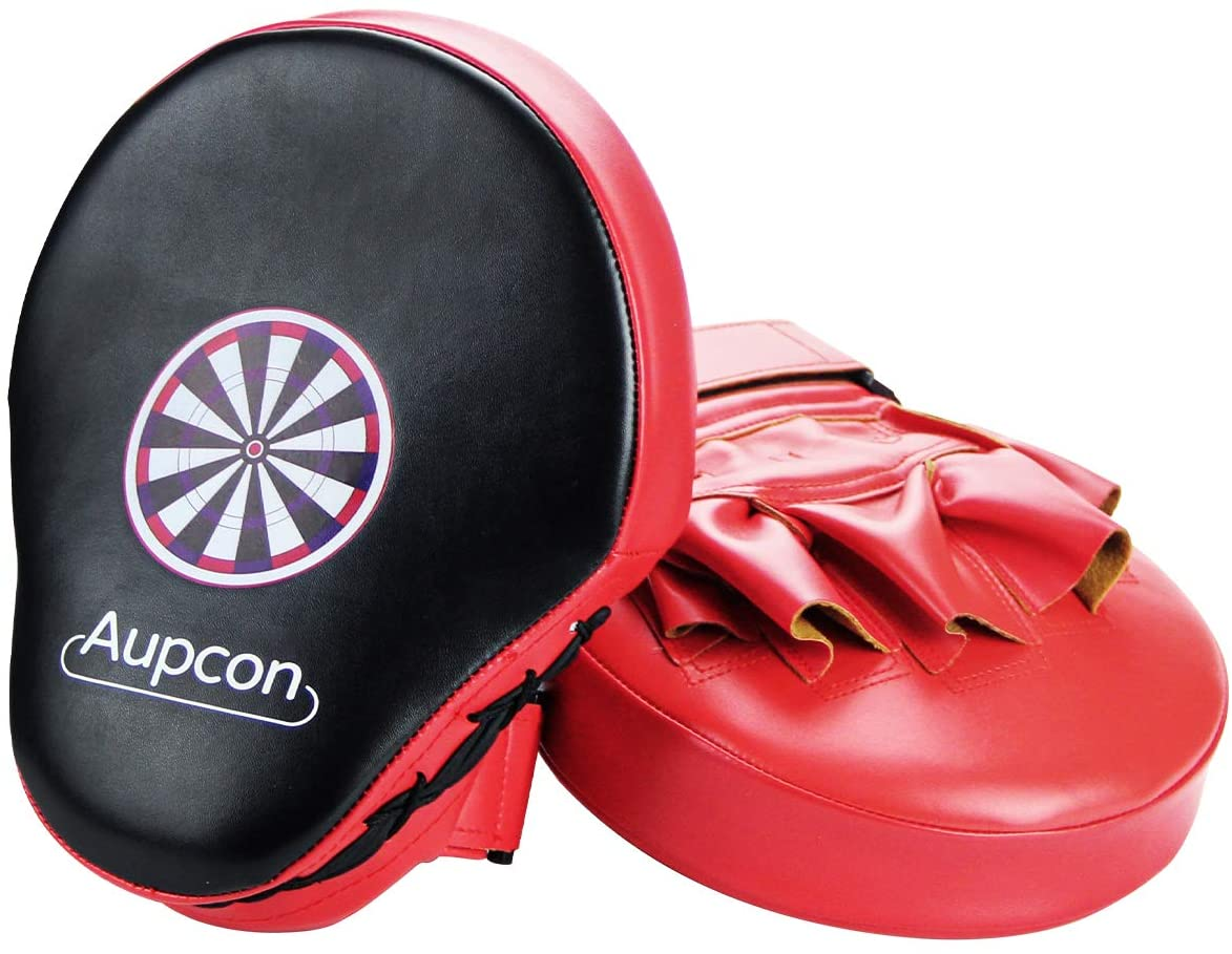 AUPCON Curved Punching Mitts Boxing Pads - MMA Punch Mitts Training Boxing Punch Focus Mitts Target Focus Punch Pad Gloves Karate Muay Thai Kickboxing