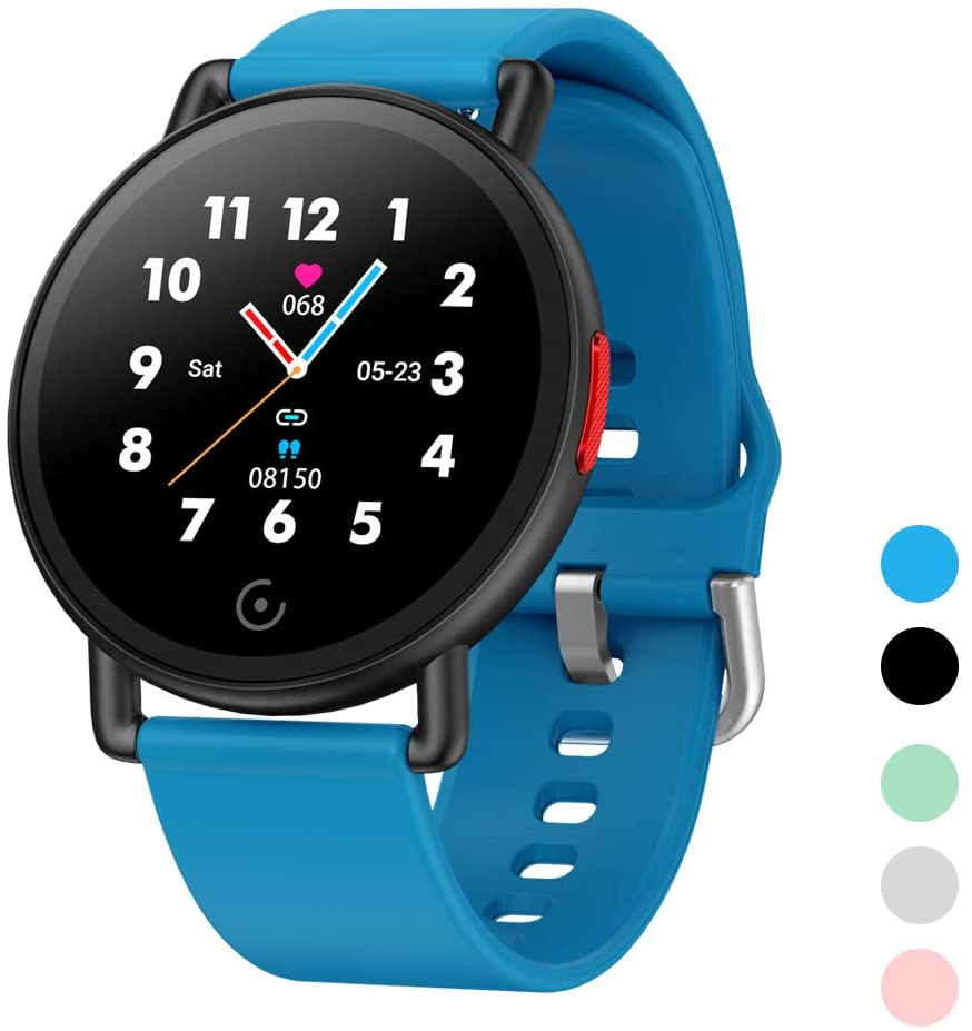 ISZPLUSH Smart Watch, Fitness Tracker with Blood Pressure Monitor, Activity Tracker with 1.3