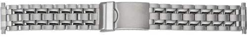 Timex Watch Bands Q7B865GZ 16mm Metal Stainless Steel Silver Watch Strap