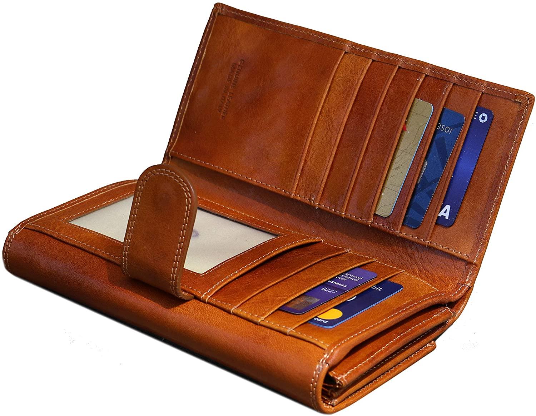 Roma Checkbook Wallet