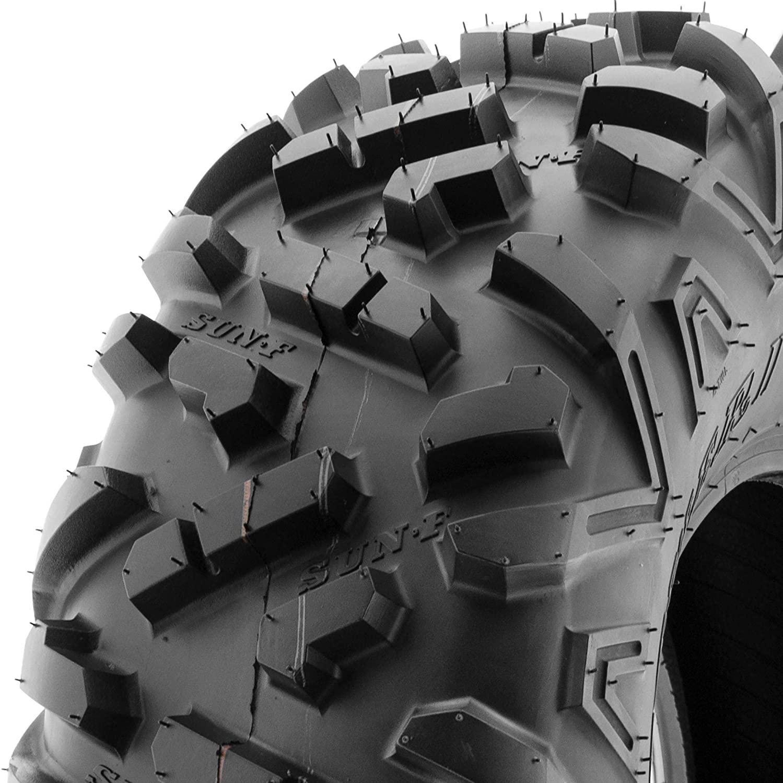 SunF 26x9-12 Replacement Tubeless 6 PR ATV UTV Tires A051 POWER II [Single]