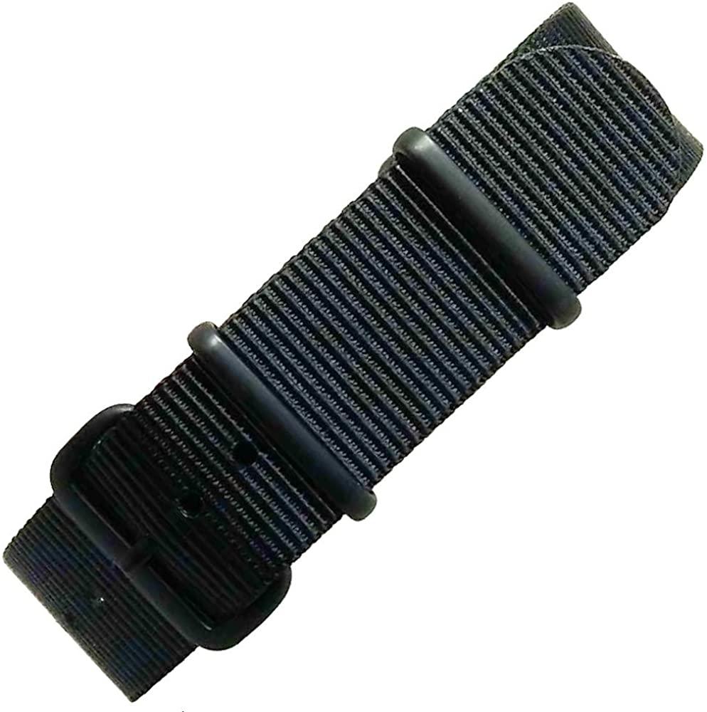 time+ NATO G10 Premium Ballistic Nylon Military Watch Strap - Choose Color & Width (18mm,20mm,22mm,24mm)