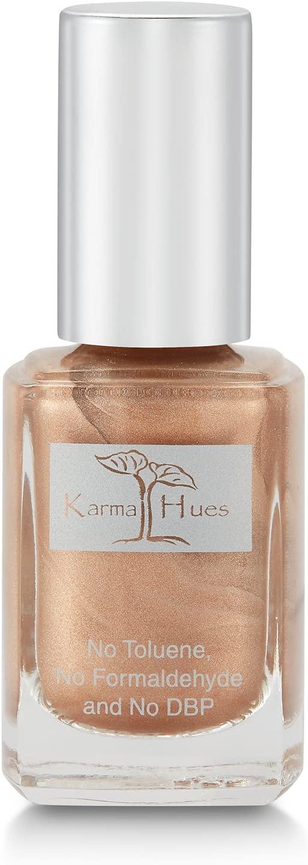 Karma Organic Natural Nail Polish-Non-Toxic Nail Art, Vegan and Cruelty-Free Nail Paint (BUBBLES AT DAWN)