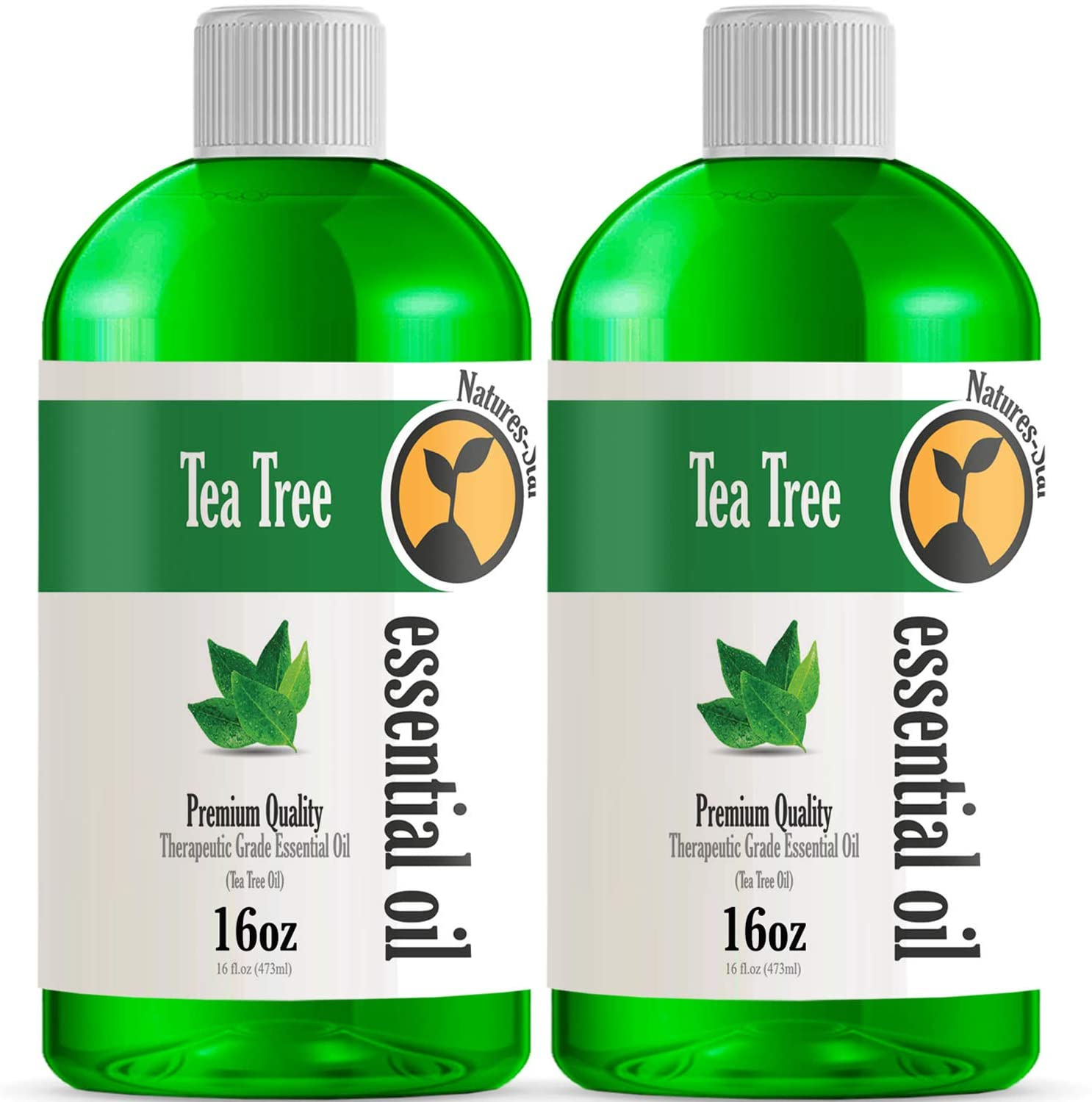 2 Pack - Bulk Size Tea Tree Essential Oil (32OZ Total) - Therapeutic Grade Essential Oil - 2 Pack of 16oz Bottles