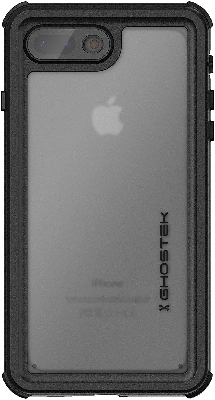 Ghostek Nautical iPhone 7 Plus, iPhone 8 Plus Waterproof Case with Screen Protector Built-in Heavy Duty Protection Full Body Underwater Watertight Seal iPhone 7 Plus, iPhone 8 Plus (5.5 Inch) - Pink