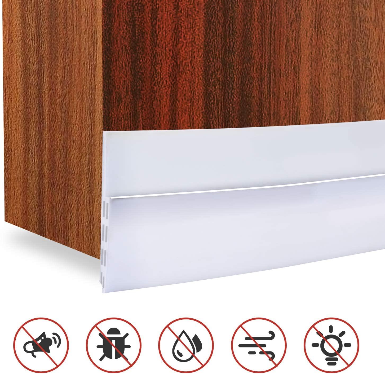 YOOMALL Door Draft Stopper Under Door Seal for Exterior Interior Doors Soundproof Door Bottom Weather Stripping 2