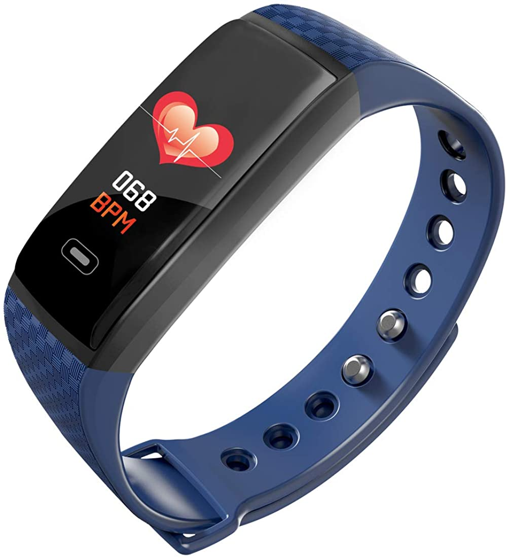 ALCADAN Activity Tracker Watch, with Heart Rate Monitor,Calorie Counter, Waterproof Smart Fitness Band with Step Counter, Phone Reminder, Pedometer Watch for Kids Women and Men