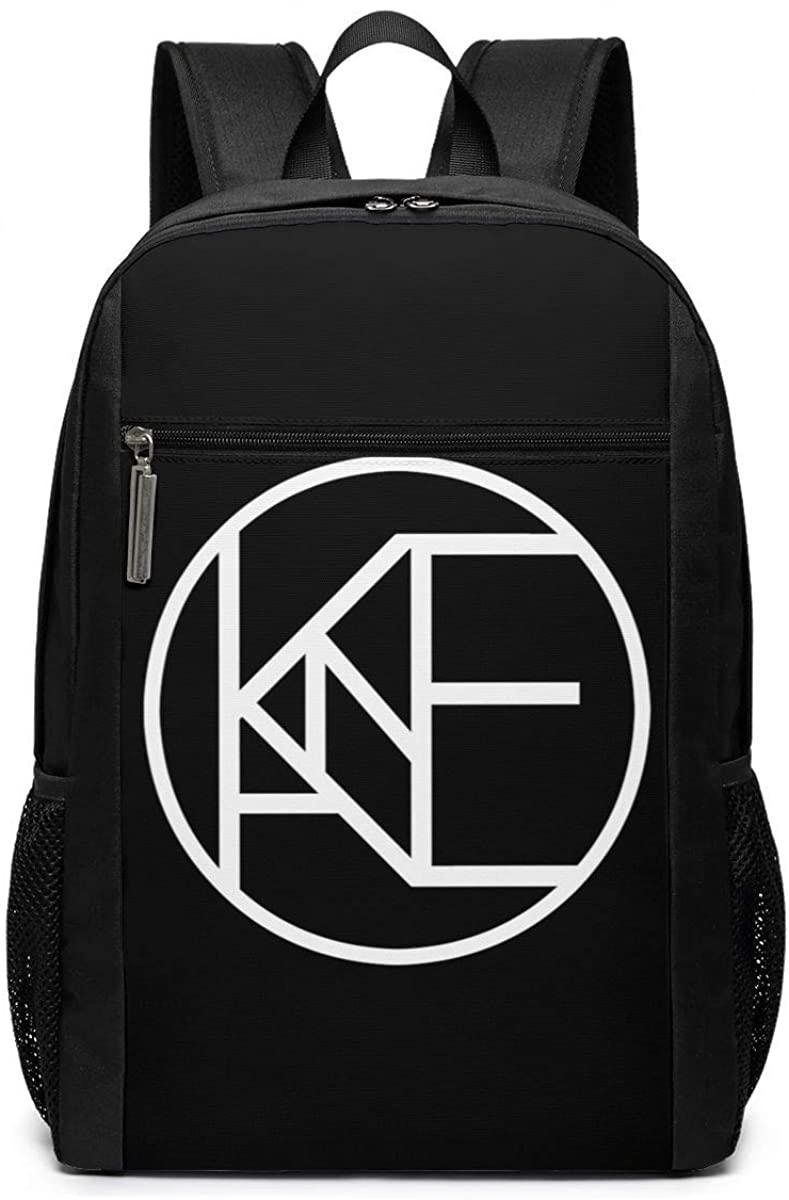 ROBETT Amazing Crazy Kane Brown Backpack,Lightweight Multi-Function School Laptop Bookbag Travel Backpack 17 Inches