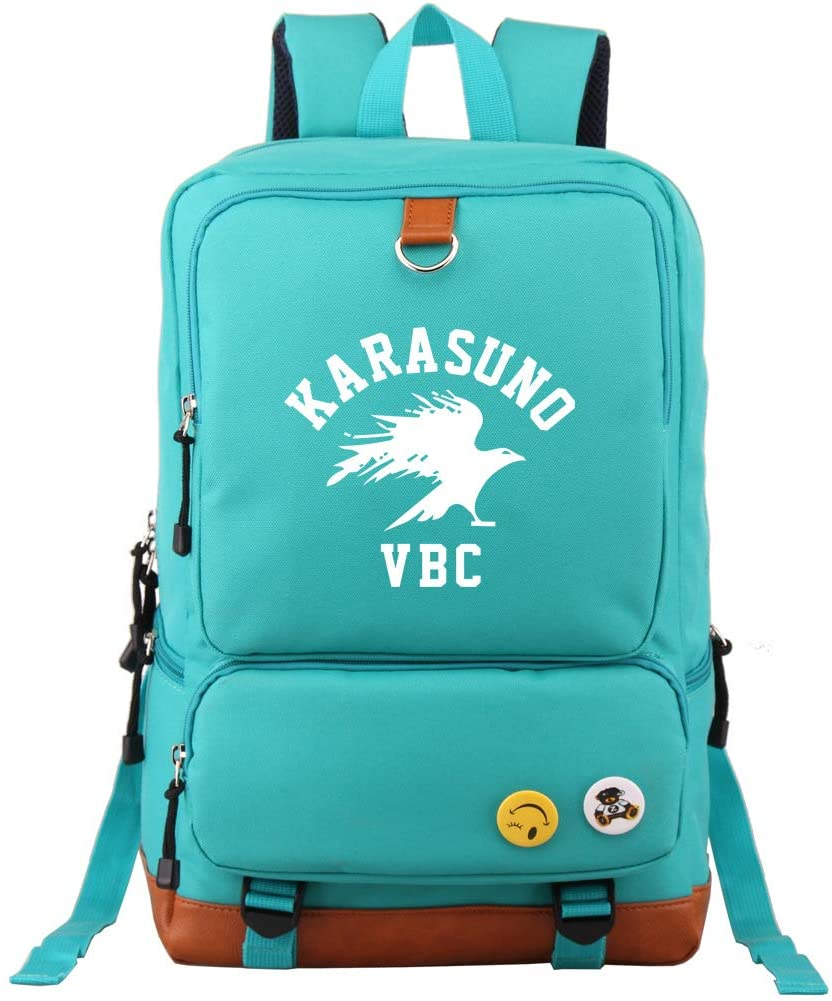CHENMEILI Haikyuu Volleyball Casual Travel Bag Laptop Backpack Student School Backpack For Women Men