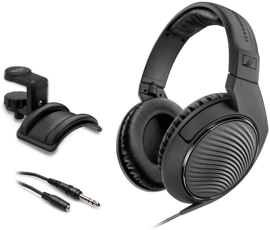 Sennheiser HD 200 Pro Monitoring Headphones with Headphone Holder & Stereo 1/4