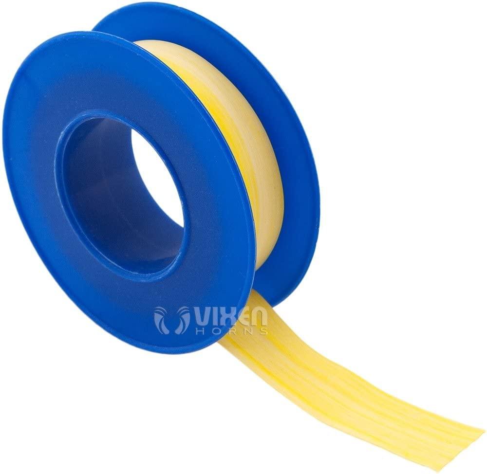 Vixen Horns 12mm x 5 Meters Thread Sealant Tape Yellow VXA7125