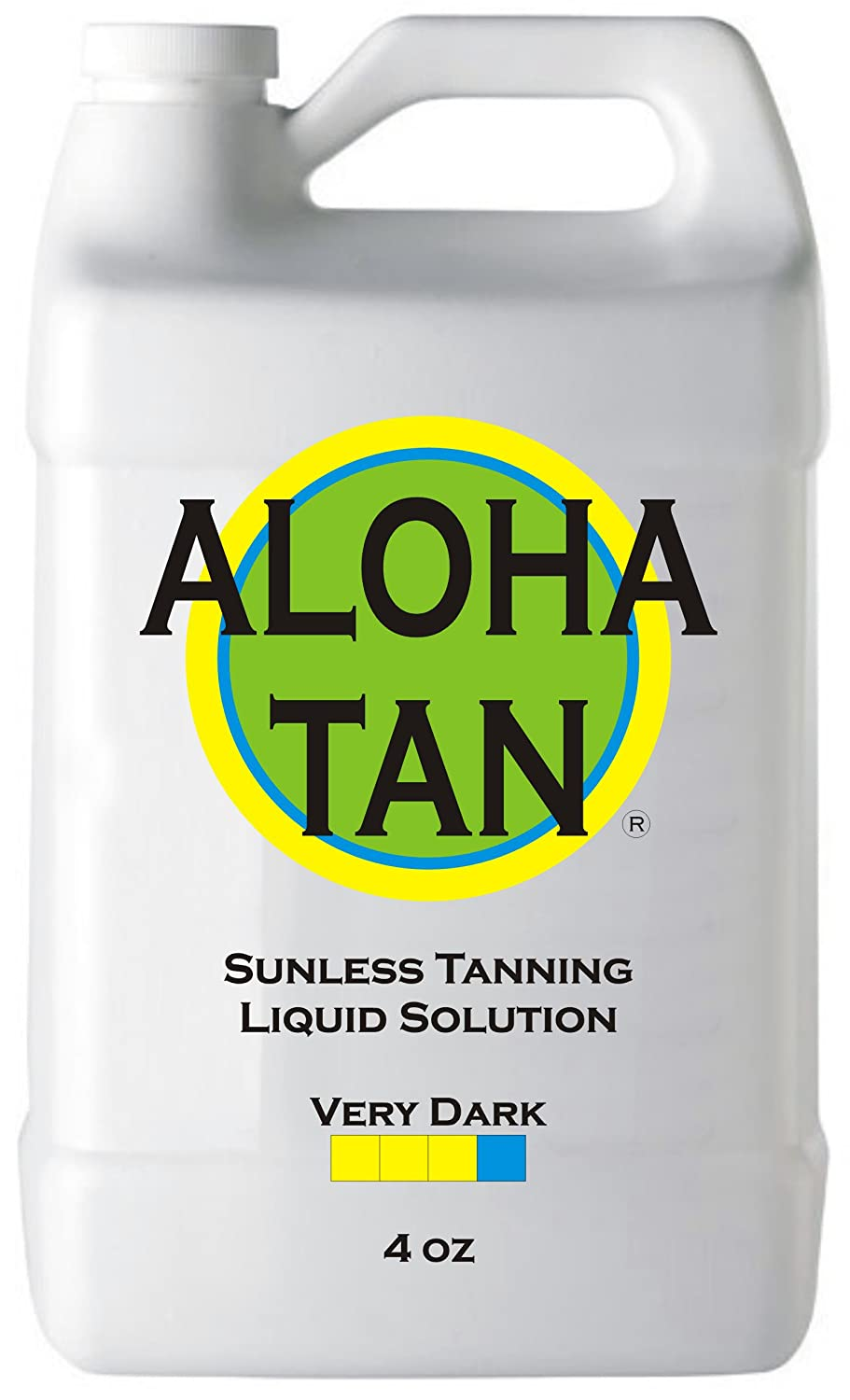 ALOHA TAN - VERY DARK - Spray Tan Solution - 4 oz - Sunless Self Tanning Liquid for Airbrush or HVLP System - INCLUDES: Applicator Mitt, Application Gloves and Best Fake Tanner Lotion Mousse Sample