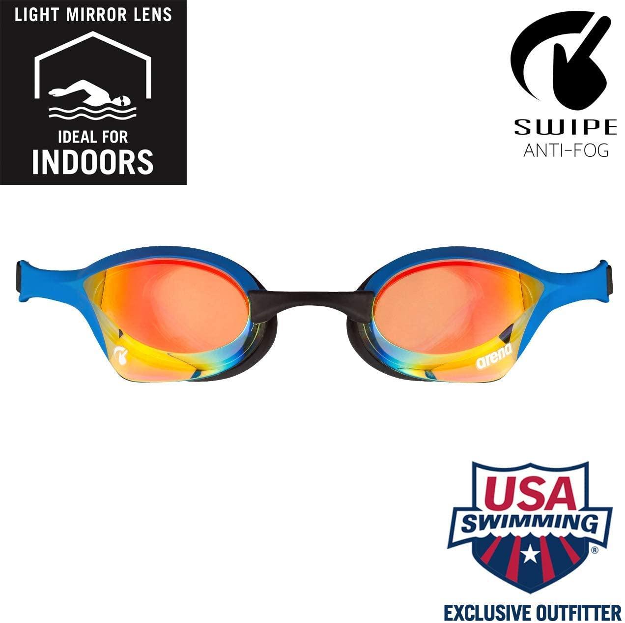 Arena Cobra Ultra Racing Swim Goggles for Men and Women