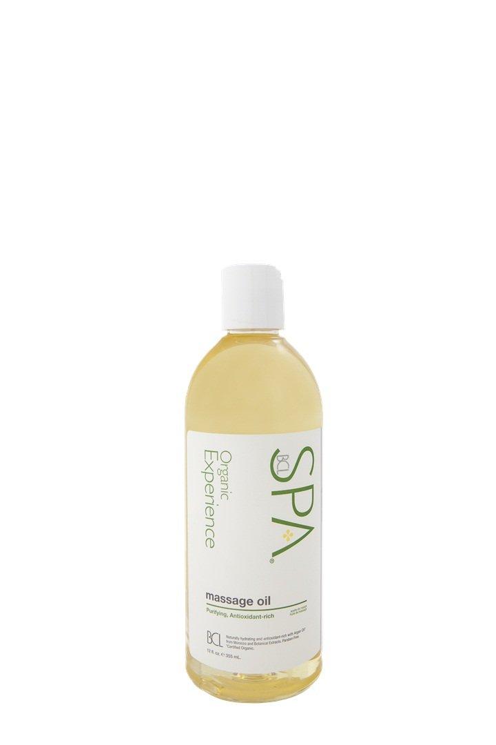 Bio Creative Lab Spa Massage Oil, Lemongrass and Green Tea, 12 Fluid Ounce