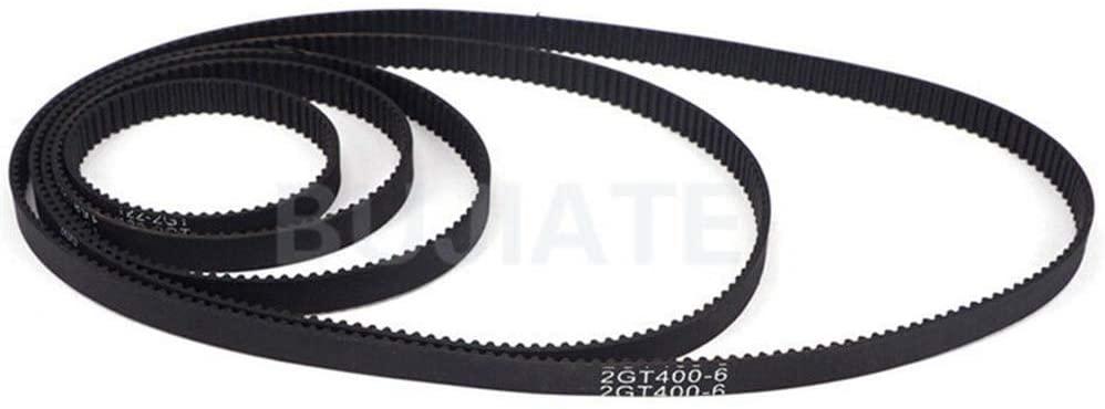 GT2-6mm Close Loop Timing Belt 2mm Pitch 6mm Width 280mm Perimeter For 3D Printer (GT2-280mm)