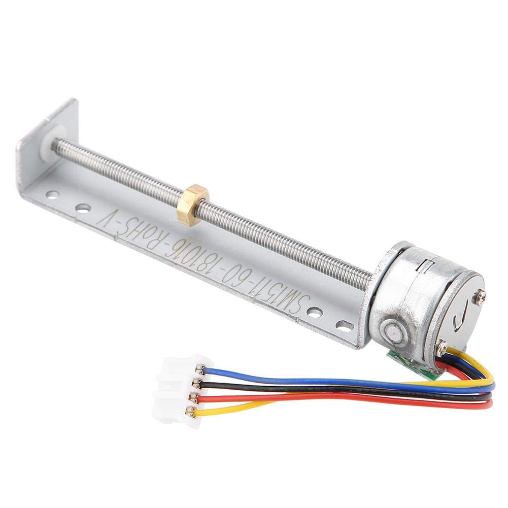 Slider Stepper Motor,SM1511 5V Micro Linear Stepper Motor,2-Phase 4-Wire,Precision Design,for Medical Equipment, Precision Instrument etc
