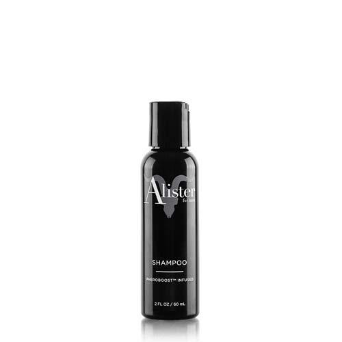 Alister Travel Size Shampoo For Men, By Dan Bilzerian, All Natural, Clean, Vegan, Pheroboost Infused