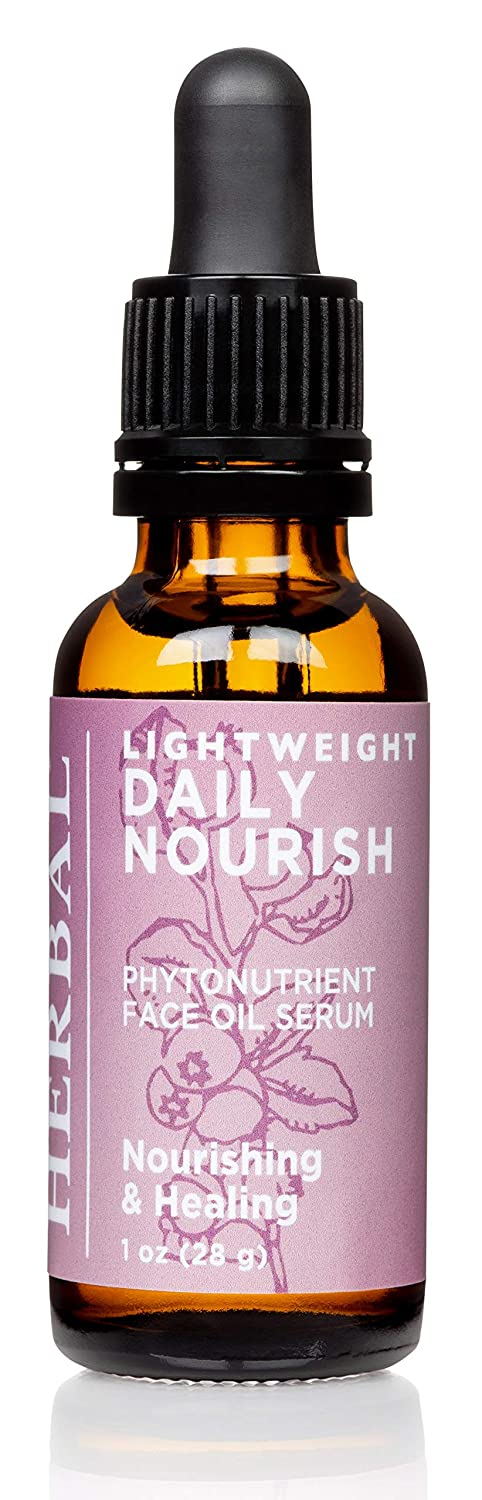 Lightweight Daily Nourish, Unscented Face Oil Serum, Fragrance Free and Ingredient Focused, Ora's Amazing Herbal