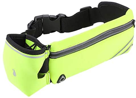 Fashion Waist Packs Outdoor Pockets Multi-Function Marathon Running Kettle Pockets Sports Bottle Bag Mobile Phone Bag Men and Women Riding Pockets