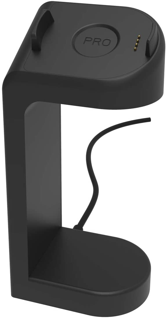 Ticwatch Pro Charger,Replacement Data Connection Charging Dock Compatible with Ticwatch Pro Stand Station Case Friendly with 5 Feet Charger Cable Black