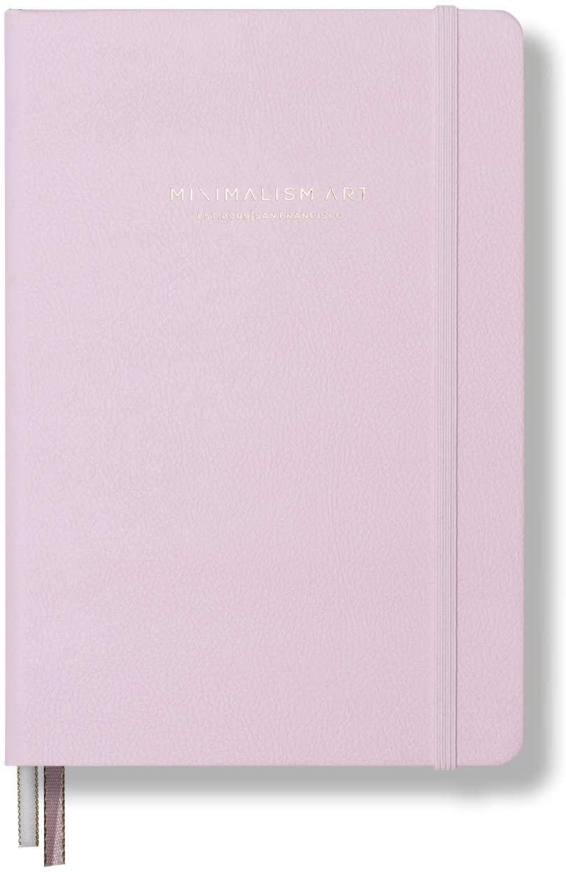 Minimalism Art, Premium Hard Cover Notebook Journal, Large, Composition B5 7.6