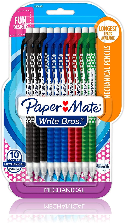 Paper Mate Polka Dot Mechanical #2 Pencils 10 Pack
