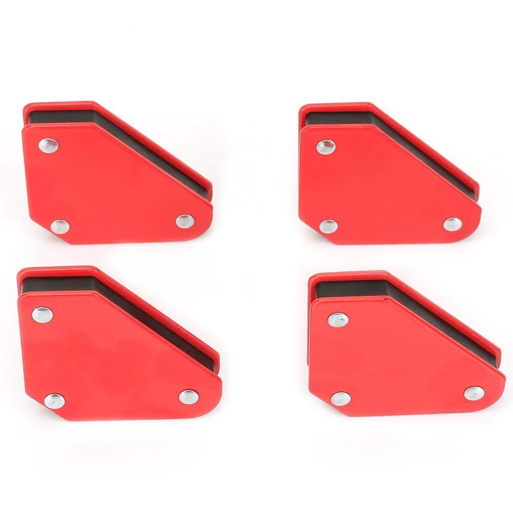 Welding Magnetic Holder, 4pcs 9LB Angle Soldering Locator Magnetic Magnet Corner Arrows Welder Welding Holder Tool