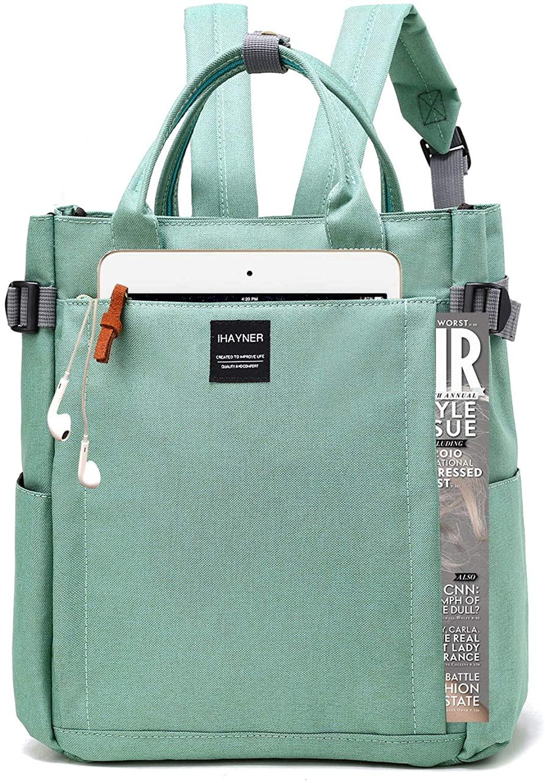 Nylon Laptop Backpack Tote Multipurpose Shoulder bag Daypack Rucksack Lightweight School bag