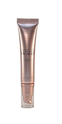 Eye Shadow Primer Makeup: Dual-Action (Vitamin C Hyaluronic Acid), Monica Ann Beauty; Eyeshadow Base Prevents Oily Lids