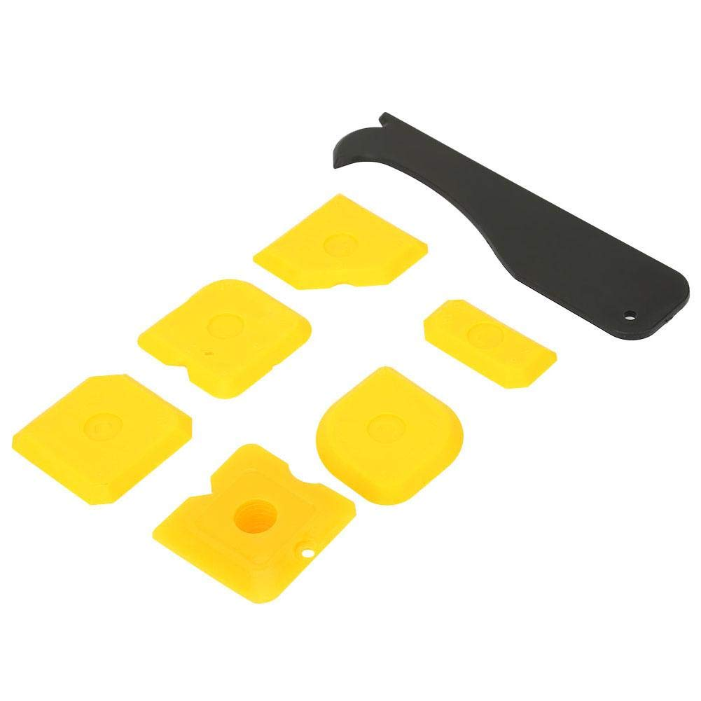 Samfox Silicone Grout Remover Sealant Caulking Tool,Smoother Finisher Scraper Cleaner Tool Kit