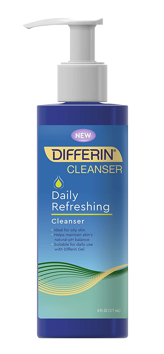 Facial cleanser by Differin, Refreshing Cleanser, 1 pack, 6fl oz