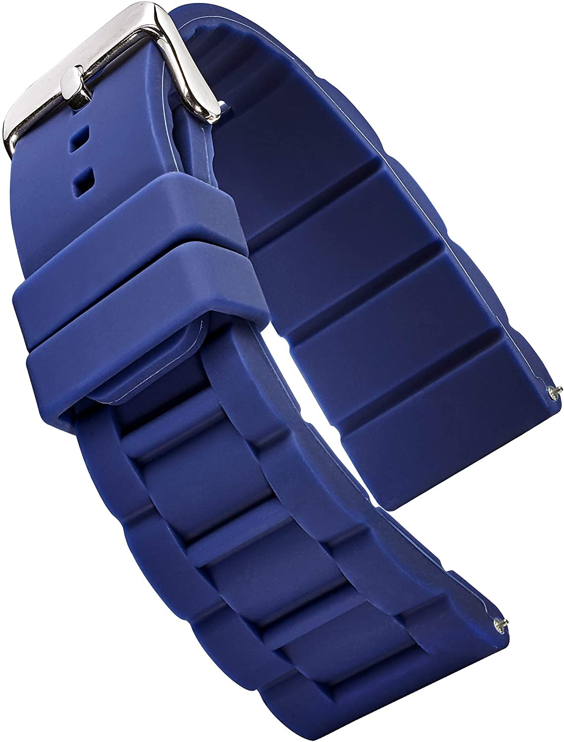 Alpine Sporty Silicone Watch Band 26, 28, 30 mm   Waterproof Silicone Strap & Stainless Steel Buckle