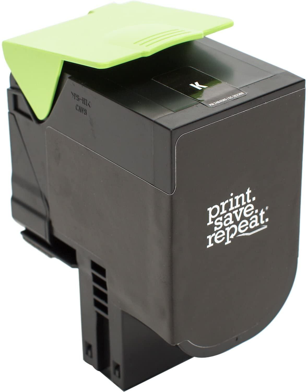 Print.Save.Repeat. Lexmark 701HK Black High Yield Remanufactured Toner Cartridge for CS310, CS410, CS510 [4,000 Pages]