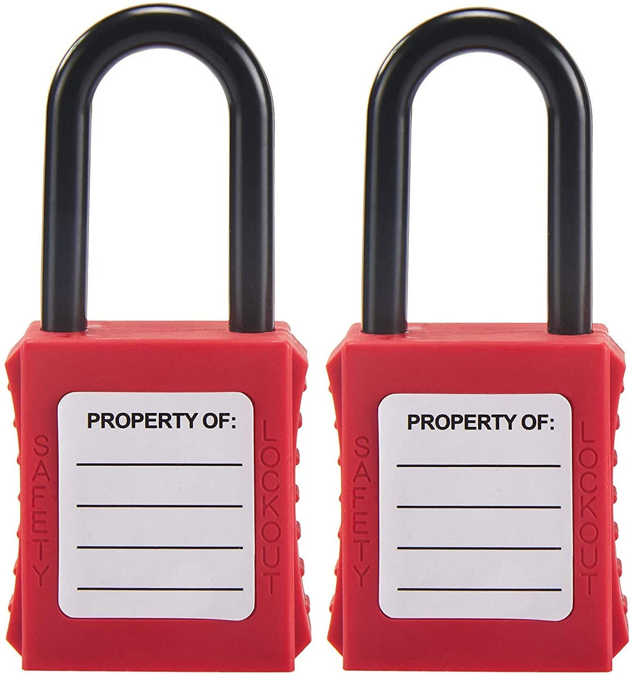 Holulo keyed Different Lockout Tagout Safety Padlock for Chemical Electric Industrial Automotive (1-1/2