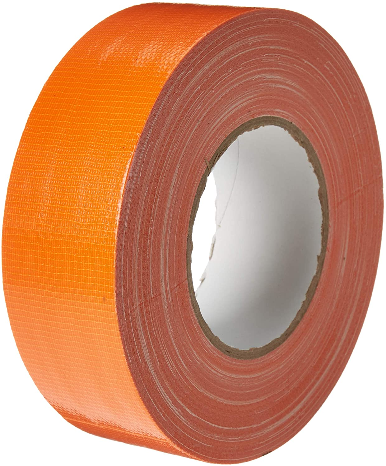 T.R.U. CDT-36 Industrial Grade Duct Tape. Waterproof and UV Resistant. Multiple Colors Available. (Racing Orange, 2 in.)