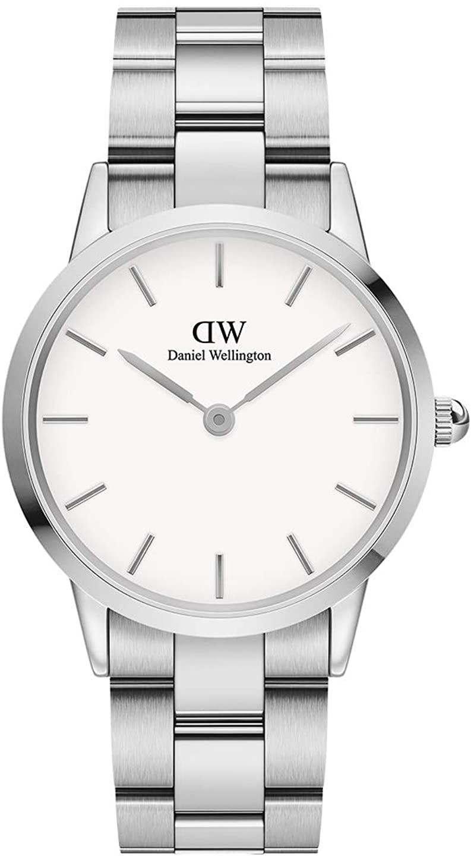 Daniel Wellington Iconic Link Watch, Rose Gold or Silver Link Bracelet