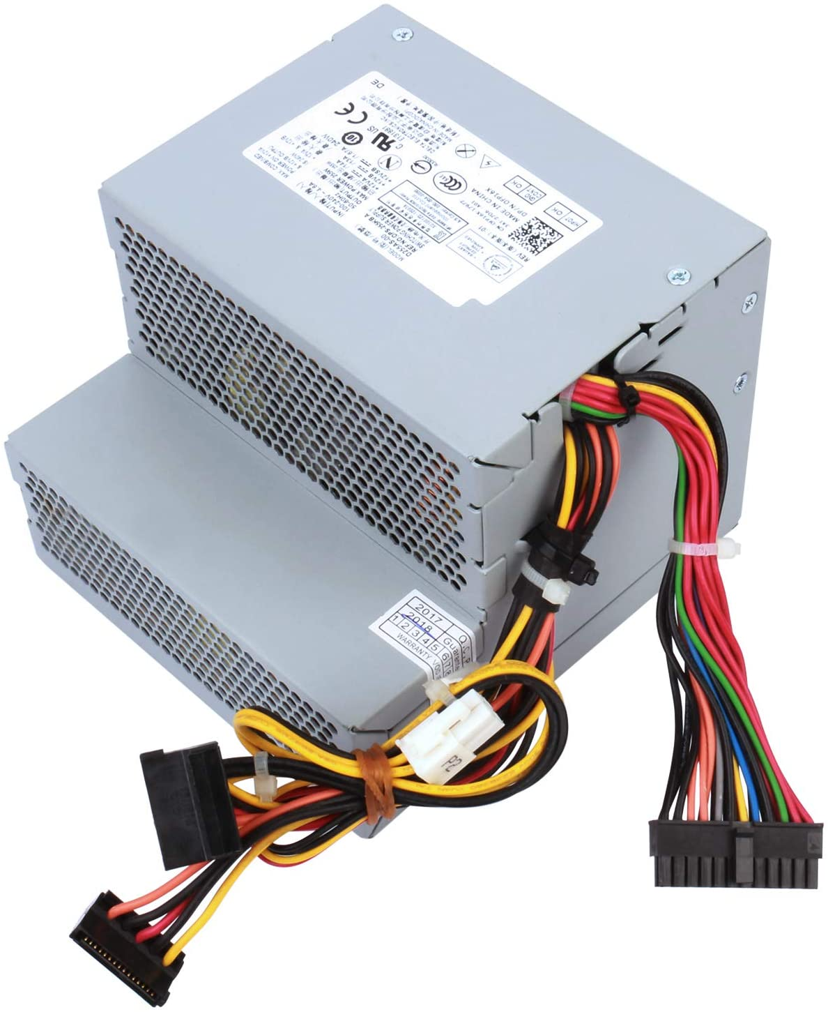 YEECHUN F255E-01 N249M 255W Power Supply Replacement for Dell Optiplex 580 760 780 960 980 DT PSU AC255AD-00 H255E-01 L255P-01 D255P-00 DPS-255BB A V6V76 RM110 FR597 CY826