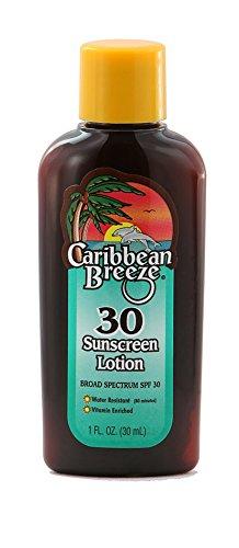 Caribbean Breeze-TRAVEL SIZE-SPF 30 SunScreen Lotion, 1 oz (30 ml)