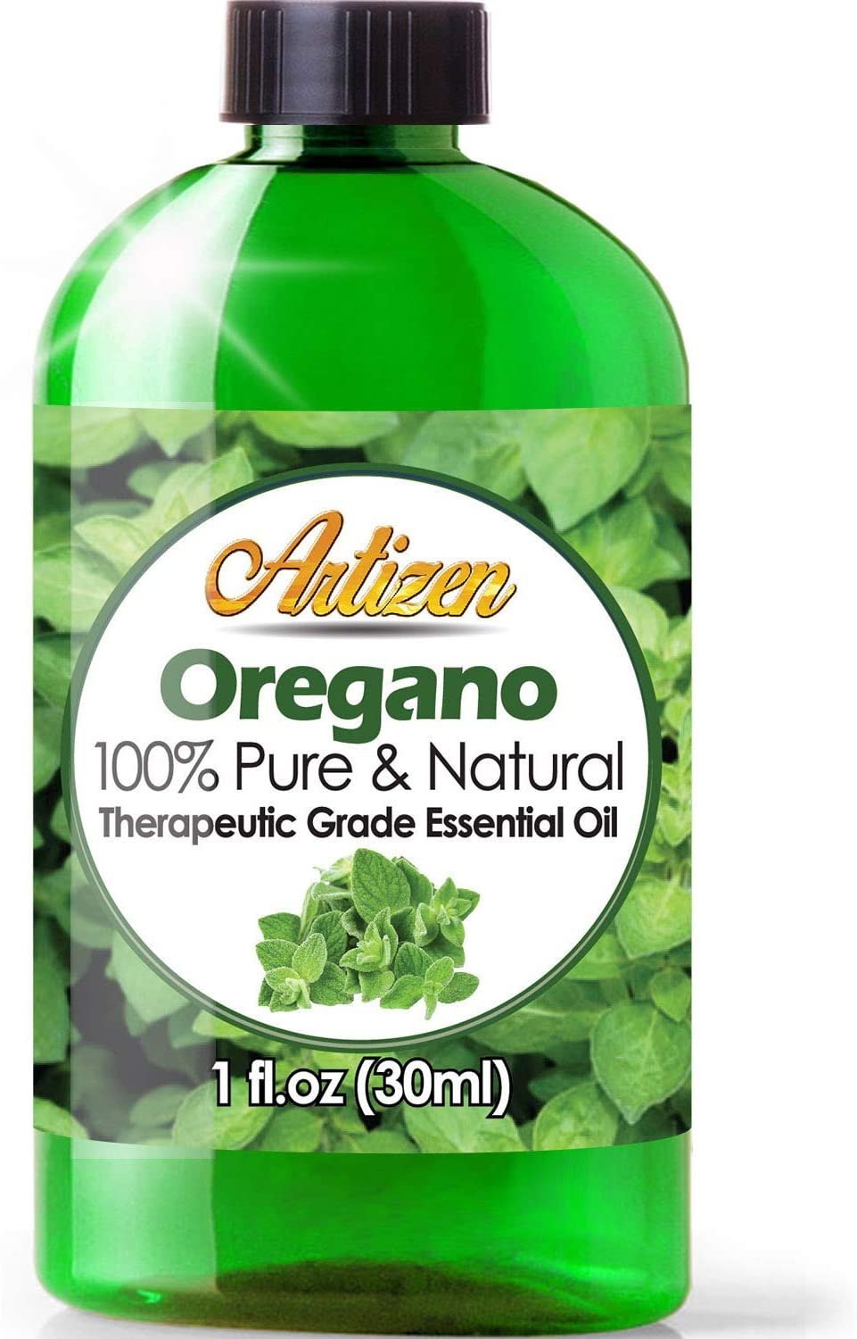 Artizen Oregano Essential Oil (100% PURE & NATURAL - UNDILUTED) Therapeutic Grade - Huge 1oz Bottle - Perfect for Aromatherapy, Relaxation, Skin Therapy & More!