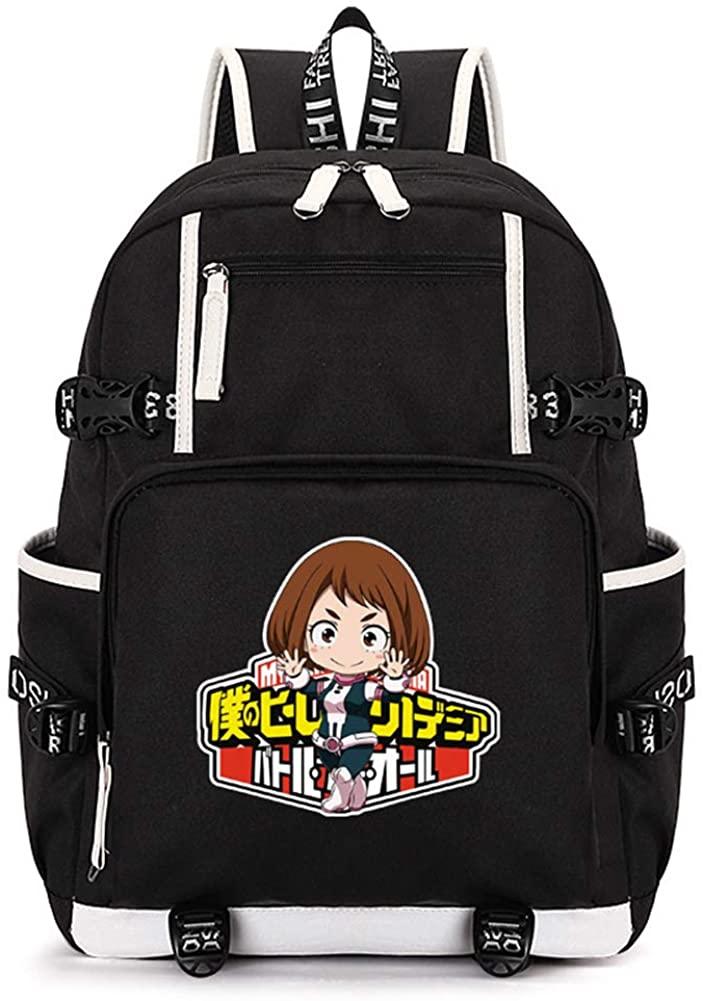 My Hero Academia College School Student Women Men Bag Laptop Backpack