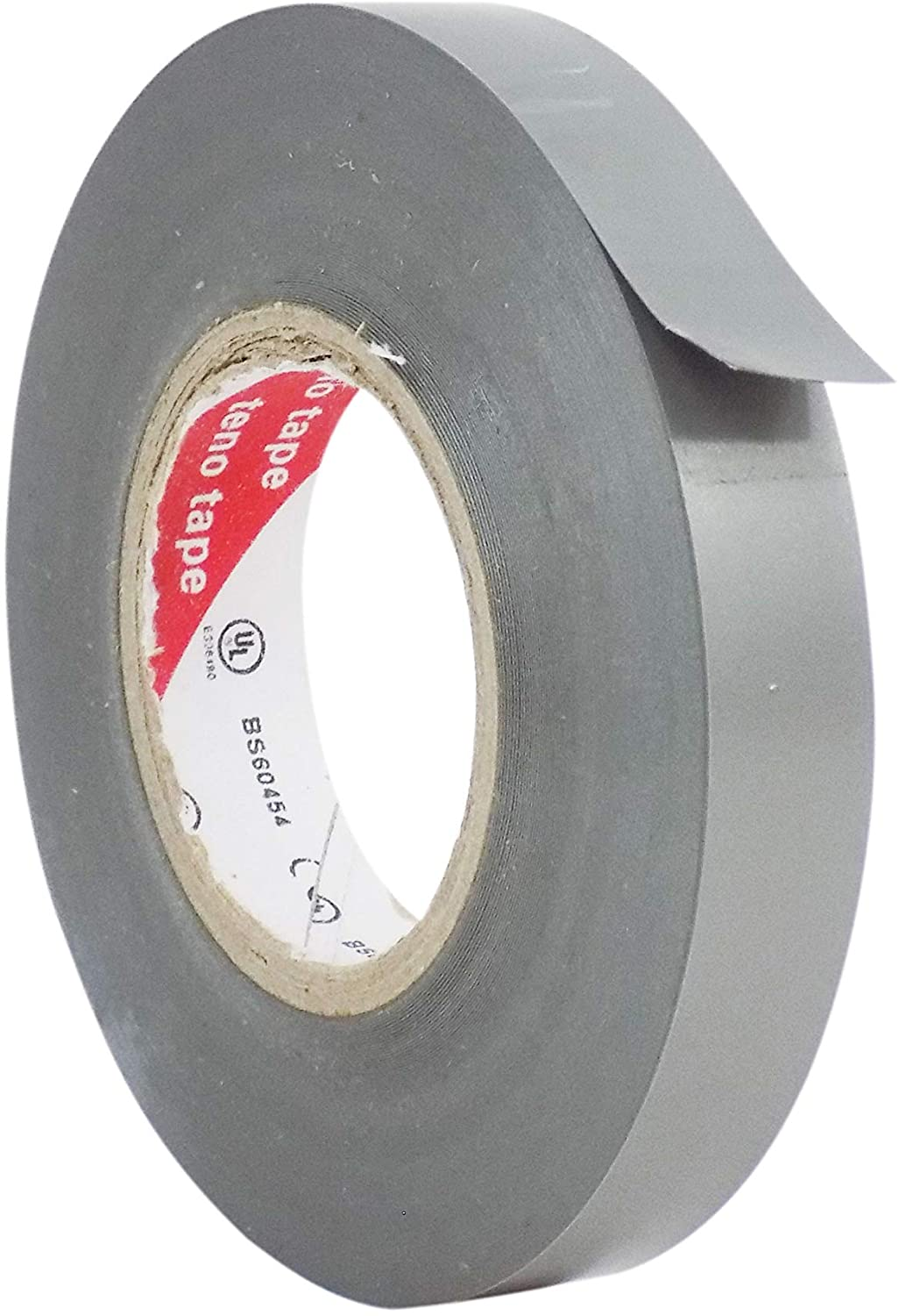 WOD ETC766 Professional Grade General Purpose Gray Electrical Tape UL/CSA listed core. Vinyl Rubber Adhesive Electrical Tape: 1/2 inch X 66 ft - Use At No More Than 600V & 176F (Pack of 1)